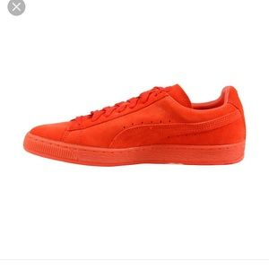 Puma suede classic ice mix ORANGE